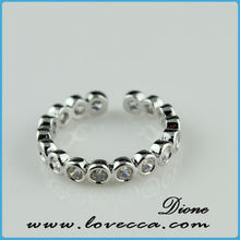 HOT New arrival !!!latest creative diamonds cute initial ring