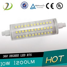 stock 5000 pieces r7s light high quality r7s led Wide Angle dimable led downlight