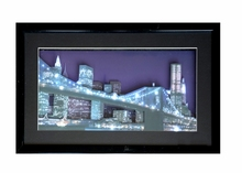 wall mounted 3D led light up picture frame