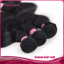 100% virgin asian hair weave collected from young girl