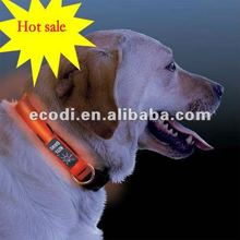 2012 Hotsale flash LED pet collar/ led flashing dog collar/ fashion led pet collar