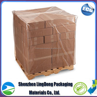4mil to 8mil PE clear Pallet film shrink wrap