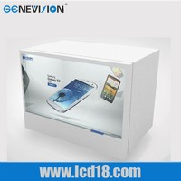 Custom 46 Inch Transparent Lcd Display In Advertising Players
