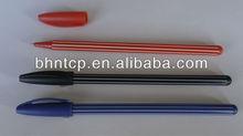 BHNPP4484 Under 10cents Promotional Gifts Plastic Stripe Ballpint Pen