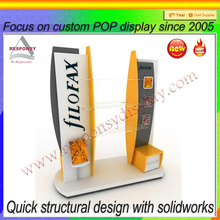 Commercial retail display case retail shop/store used fixture design
