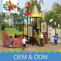 Wholesale Park Interesting Kids Indoor&Outdoor Plastic Cheap Children Outdoor Playground For Sale