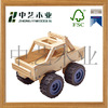 Promotional wooden truck toy high quality educational wooden toy truck for kids
