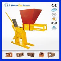 SURPASS 2000 china clay brick machine / manual interlock brick machine / interlocking brick making machine