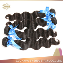 Fast and secure shipping double drawn brazilian body wave 20 inch 24 inch virgin remy brazilian hair weft
