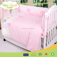 BBS050 printed 100% cotton mickey mouse bedding set, coming home bamboo bedding