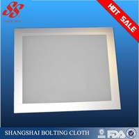 Contemporary promotional grooved silkscreen printing frame
