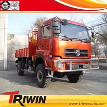 DONGGRNG 4 WHEEL DRIVE ALL TERRAIN TRUCK MOUNTED 3 TON CRANE VEHICLE