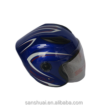 Sunshine ABS with sun visor flip up motor helmet,high quality helmet compatiable safety motorcycle helmet,DOT motorcycle helmet