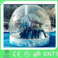 Cheap price of years christmas inflatable snow globes