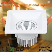 2015 Energy Saving High Luminous 7W LED Downlight