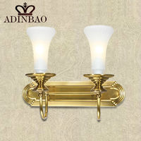 new fashion copper wall lamp led stair wall light XD1037-02A
