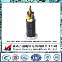 0.6/1KV XLPE Insulation Fire Resistent LSZH heat resistant Power Cable
