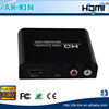 HD signal spdif R/L audio extractor hdmi to SPDIF converter power free hdmi to rca