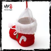 Christmas decoration santa claus boots, xmas santa claus boots