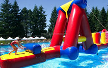 Most popular inflatable water obstacle courses, inflatable pool toys
