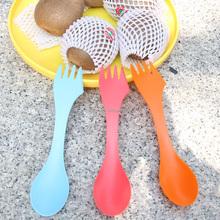 custom children plastic spoon/decorative plastic forks
