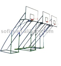 """In Ground Basketball Stand with 60"""" Backboard and Basketball Goals Basketball Frame"""