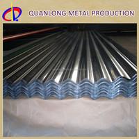 JIS G3302 Metal Zinc Steel GI Corrugated Roofing Sheet Sizes