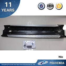 Aluminium Running Board Side Step for BMW X6 E71Side step bar Auto accessories from Pouvenda