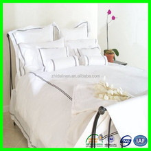 fashion design contemporary printed hotel bedding set