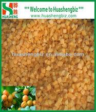 Wholesale IQF Frozen Diced Apricot