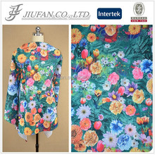 Jiufan Textile 2105 Hot Sell New Design African Fashion Style Knit Polyester Spandex Print Poly Span Fabric Scuba for Women Dres