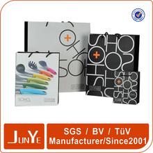 Custom printed design shopping gift paper bag wholesale