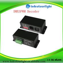 HOT-SALE!! DMX decoder controller DC12V-24V DMX512 Decoder 3CH*5A