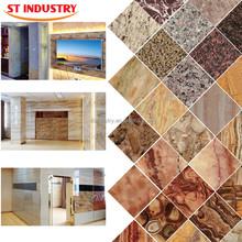 bathroom textured stone decorative exterior wall tile designs for bedroom/living room/restaurant/kitchen