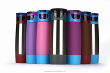 Multifunctional stainless steel sports bottle for hot and cold water
