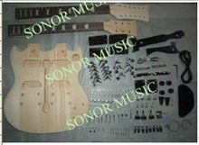 Chinese Fashion Double Neck Electirc Guitar Kit