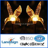 45*45cm solar pannel high quality solar hummingbird stick light for garden
