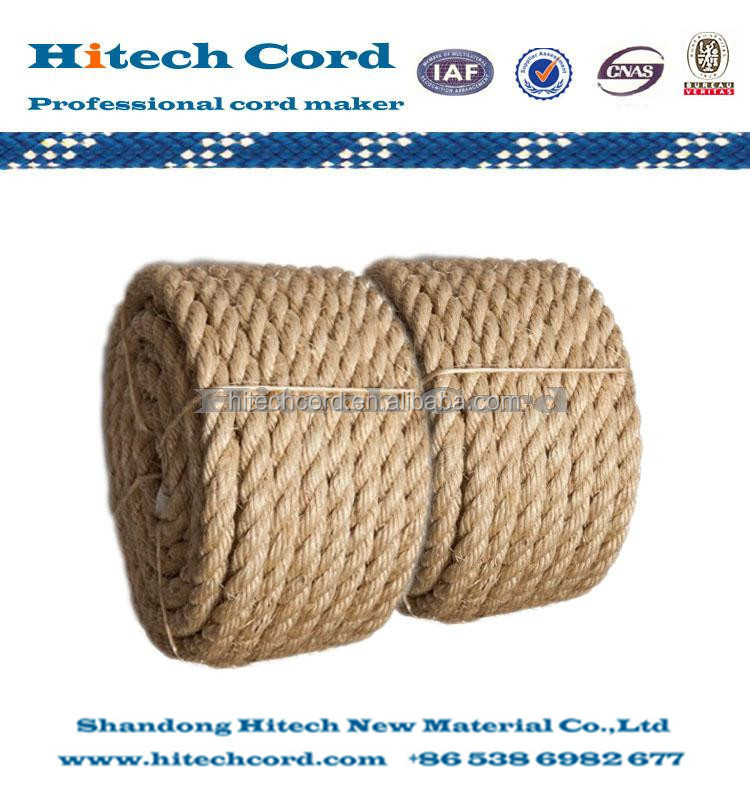 3Sisal 3 Strand Twisted Rope(