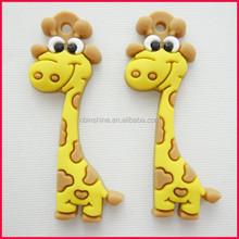Animal Pvc Key Chain , Cartoons Free Design Soft PVC Keyring for sale