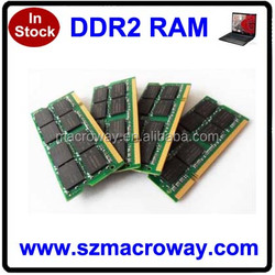 Fast delivery cheap price ram memory ddr2 2gb ram pc2-6400 sodimm