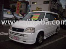 1998 HONDA STEP WGN G-F/Wagon/RHD/54600km/Gas/Petrol/White Used car