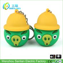 personalizado de alta calidad promocional mini led llavero linterna