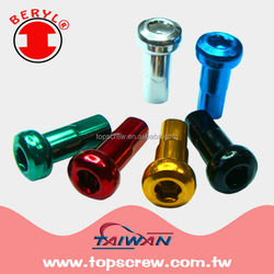 BICYCLE MOTORCYCLE PARTS COLOR SPOKE NIPPLE