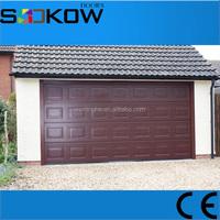 sectional overhead garage door wuxi with opener