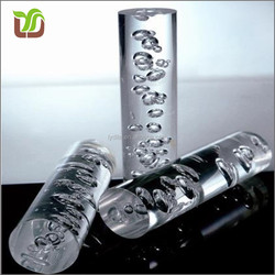 Clear Acrylic Rod Small Size Dia.5mm,6mm,8mm,9mm,10mm,12mm,15mm