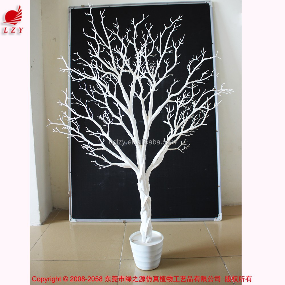 2015 white decorative tree dry tree branch christmas tree for Designer white christmas tree