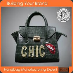 wholesaler fashion leather designer ladies handbags
