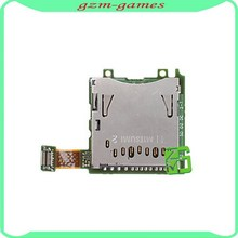 Replacement new SD Card Slot for Nintendo 3DS,For 3DS SD Card Reader Contact