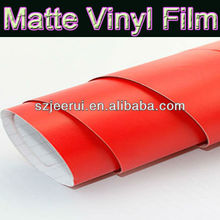 Hot Sale Matte Red Color Car Wrap Vinyl,Matte Vinyl Car Body Protective Film,Matte Car Sticker With Air Channels