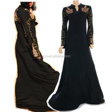 Oem service muslim women long dress baju kurung modern 2015,baju mordren malaysia